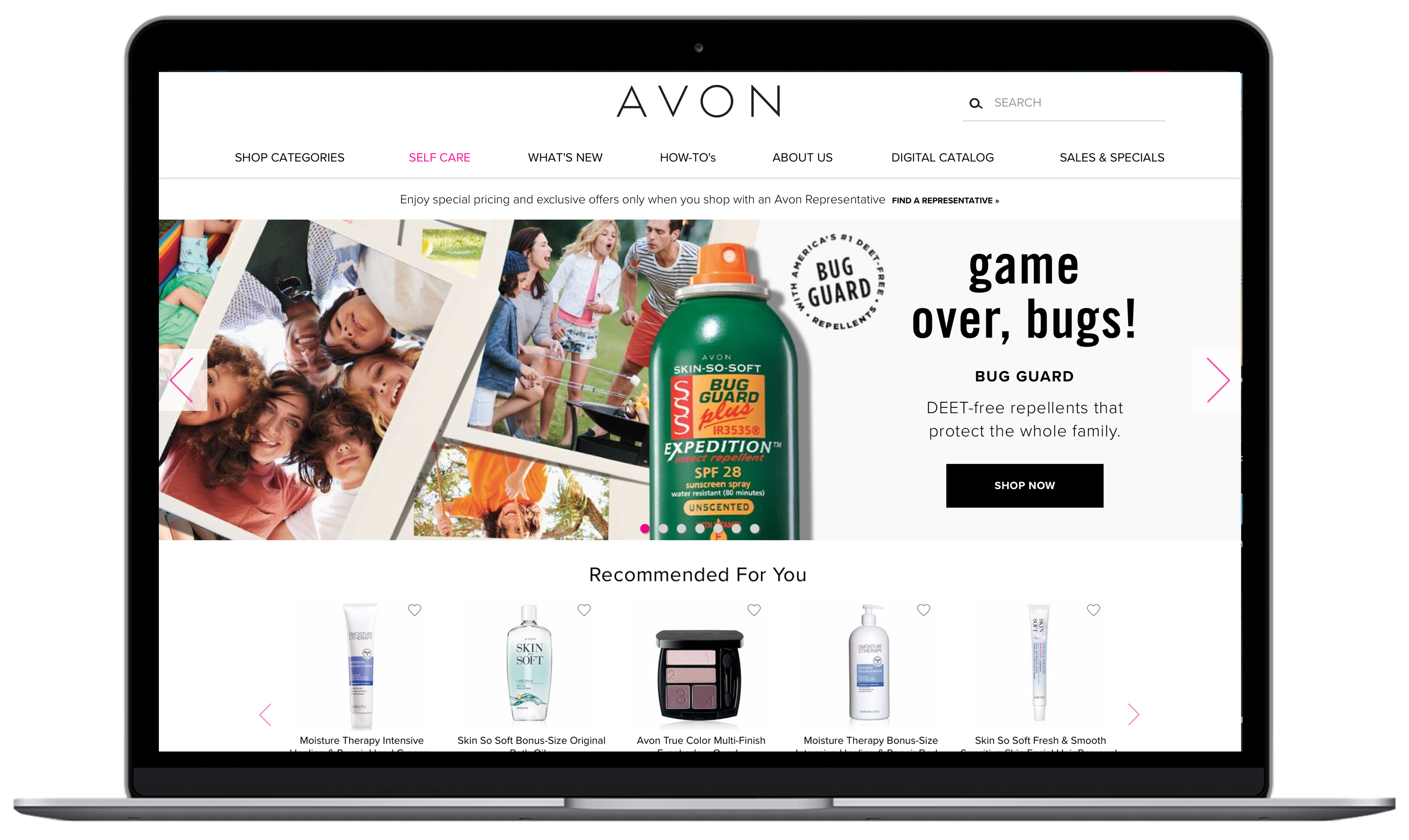 Avon-category-pages